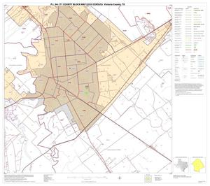 Primary view of object titled 'P.L. 94-171 County Block Map (2010 Census): Victoria County, Block 11'.