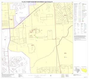 Primary view of object titled 'P.L. 94-171 County Block Map (2010 Census): Harris County, Block 97'.