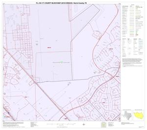 Primary view of object titled 'P.L. 94-171 County Block Map (2010 Census): Harris County, Block 270'.