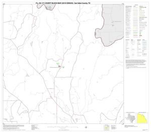 Primary view of object titled 'P.L. 94-171 County Block Map (2010 Census): San Saba County, Block 6'.