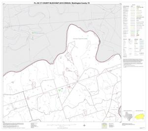 Primary view of object titled 'P.L. 94-171 County Block Map (2010 Census): Washington County, Block 4'.
