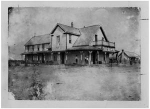 Primary view of object titled 'Hotel in Purves, Texas'.