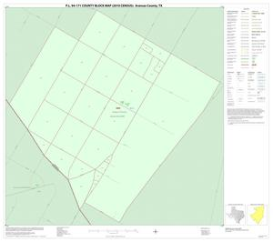 Primary view of object titled 'P.L. 94-171 County Block Map (2010 Census): Aransas County, Inset D01'.