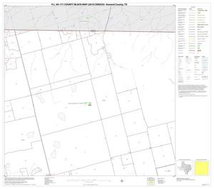 Primary view of object titled 'P.L. 94-171 County Block Map (2010 Census): Howard County, Block 2'.