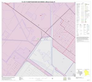 Primary view of object titled 'P.L. 94-171 County Block Map (2010 Census): Jefferson County, Inset E05'.
