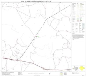 Primary view of object titled 'P.L. 94-171 County Block Map (2010 Census): Pecos County, Block 28'.