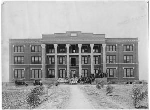 Primary view of object titled 'Wayland Baptist College in Plainview, Texas'.