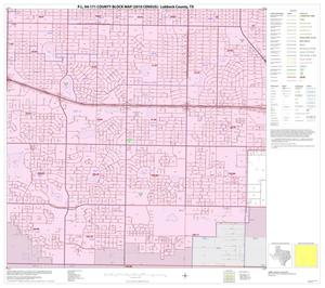 Primary view of object titled 'P.L. 94-171 County Block Map (2010 Census): Lubbock County, Inset C07'.