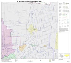 Primary view of object titled 'P.L. 94-171 County Block Map (2010 Census): Willacy County, Block 12'.