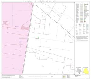 Primary view of object titled 'P.L. 94-171 County Block Map (2010 Census): Hidalgo County, Block 34'.