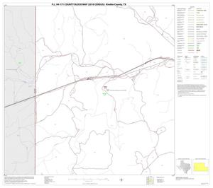 Primary view of object titled 'P.L. 94-171 County Block Map (2010 Census): Kimble County, Block 11'.