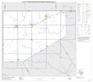 Primary view of object titled 'P.L. 94-171 County Block Map (2010 Census): Eastland County, Index'.