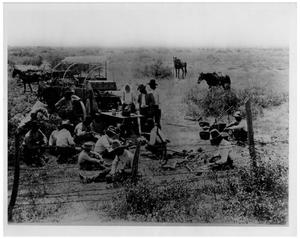 Primary view of object titled 'Chuck Time on the W Ranch'.