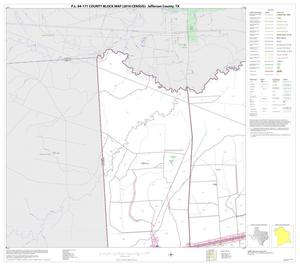 Primary view of object titled 'P.L. 94-171 County Block Map (2010 Census): Jefferson County, Block 4'.