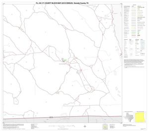 Primary view of object titled 'P.L. 94-171 County Block Map (2010 Census): Kenedy County, Block 24'.