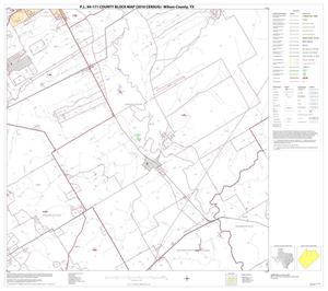 Primary view of object titled 'P.L. 94-171 County Block Map (2010 Census): Wilson County, Block 7'.