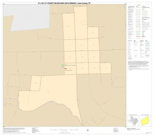 Primary view of object titled 'P.L. 94-171 County Block Map (2010 Census): Leon County, Inset E01'.