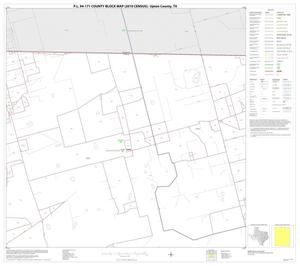 Primary view of object titled 'P.L. 94-171 County Block Map (2010 Census): Upton County, Block 2'.