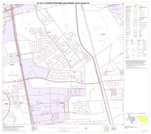 Primary view of object titled 'P.L. 94-171 County Block Map (2010 Census): Harris County, Block 72'.