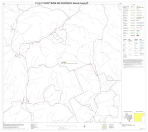 Primary view of object titled 'P.L. 94-171 County Block Map (2010 Census): Edwards County, Block 23'.