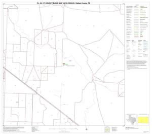 Primary view of object titled 'P.L. 94-171 County Block Map (2010 Census): Dallam County, Block 15'.