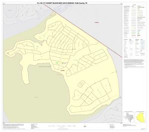 Primary view of object titled 'P.L. 94-171 County Block Map (2010 Census): Polk County, Inset C01'.