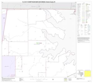 Primary view of object titled 'P.L. 94-171 County Block Map (2010 Census): Denton County, Block 5'.