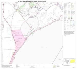 Primary view of object titled 'P.L. 94-171 County Block Map (2010 Census): Chambers County, Block 7'.