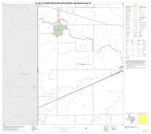 Primary view of object titled 'P.L. 94-171 County Block Map (2010 Census): McCulloch County, Block 16'.