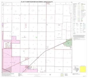 Primary view of object titled 'P.L. 94-171 County Block Map (2010 Census): Lubbock County, Block 7'.