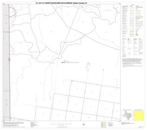 Primary view of object titled 'P.L. 94-171 County Block Map (2010 Census): Baylor County, Block 5'.