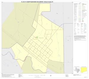 Primary view of object titled 'P.L. 94-171 County Block Map (2010 Census): Johnson County, Inset D01'.