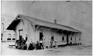 Primary view of object titled 'Texas and Pacific Freight Station'.
