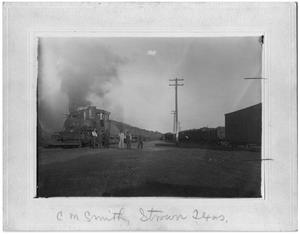 Primary view of object titled 'Coal Car in Strawn, Texas'.