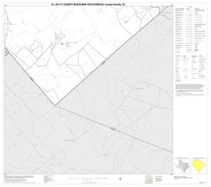 Primary view of object titled 'P.L. 94-171 County Block Map (2010 Census): Lavaca County, Block 21'.
