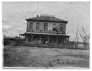 Primary view of object titled '[Original Dalton Homestead Ranch home]'.