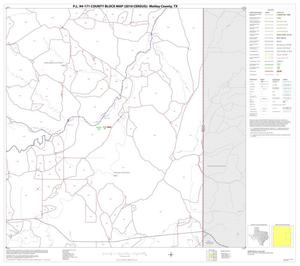 Primary view of object titled 'P.L. 94-171 County Block Map (2010 Census): Motley County, Block 6'.
