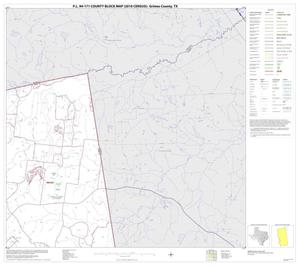 Primary view of object titled 'P.L. 94-171 County Block Map (2010 Census): Grimes County, Block 3'.
