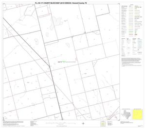 Primary view of object titled 'P.L. 94-171 County Block Map (2010 Census): Howard County, Block 6'.