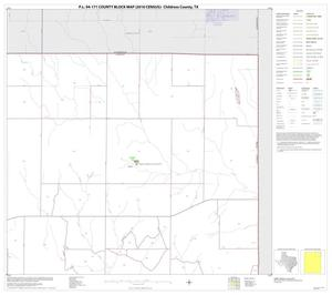 Primary view of object titled 'P.L. 94-171 County Block Map (2010 Census): Childress County, Block 3'.