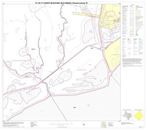 Primary view of object titled 'P.L. 94-171 County Block Map (2010 Census): Brazoria County, Block 45'.