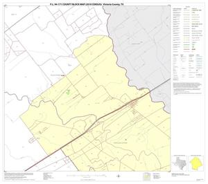 Primary view of object titled 'P.L. 94-171 County Block Map (2010 Census): Victoria County, Block 7'.