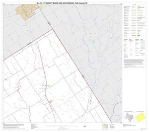 Primary view of object titled 'P.L. 94-171 County Block Map (2010 Census): Falls County, Block 2'.