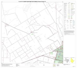 Primary view of object titled 'P.L. 94-171 County Block Map (2010 Census): Reeves County, Block 18'.