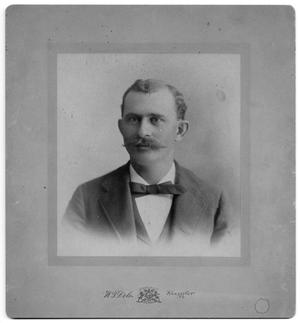 Primary view of object titled '[Portrait of Mr. Horace Wilson]'.