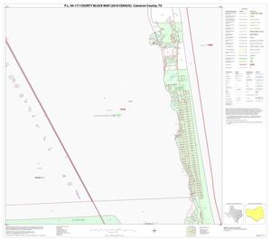 Primary view of object titled 'P.L. 94-171 County Block Map (2010 Census): Cameron County, Block 39'.