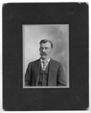 Primary view of object titled '[Portrait of Ben Prewitt]'.