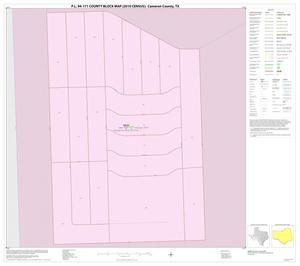 Primary view of object titled 'P.L. 94-171 County Block Map (2010 Census): Cameron County, Inset C01'.