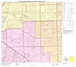 Primary view of object titled 'P.L. 94-171 County Block Map (2010 Census): Dallas County, Block 15'.