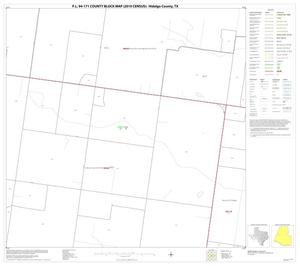 Primary view of object titled 'P.L. 94-171 County Block Map (2010 Census): Hidalgo County, Block 39'.